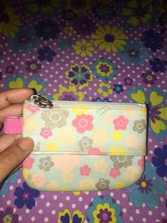 Floral coin purse w/ tissue holder