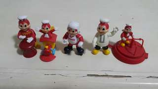 Jolibee Toy Collection