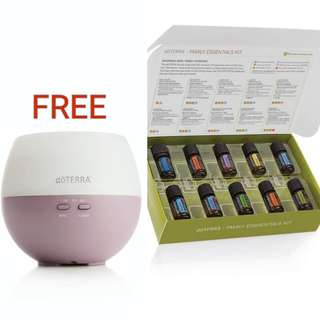 Promo Kit: Family Essentials Kit with FREE Diffuser