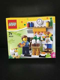 Lego 40121 Painting Easter Egg