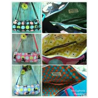 Smittened Kittens Mini Duffel Bag