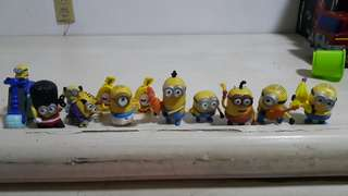 Minions Toy Collection