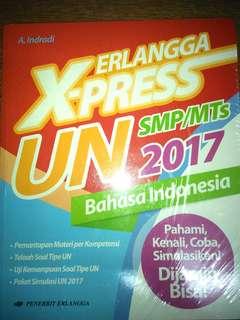 ERLANGGA X-Press UN SMP/MTs Bahasa Indonesia