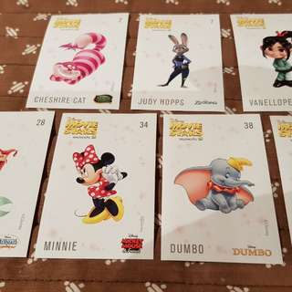 Disney movie star stickers