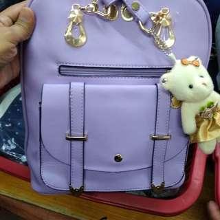 Bagpack Korean Slingbag  Size 13 inches