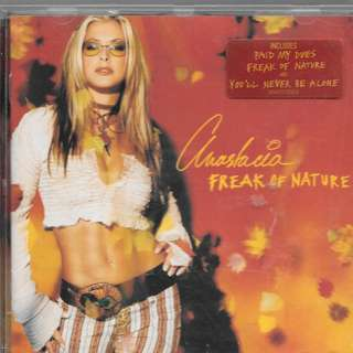 MY PRELOVED NEAR MINT CD - ANASTACIAFREAK OF NATURE/ FREE DELIVERY (F9Y)