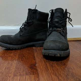 Timberland original boots in black
