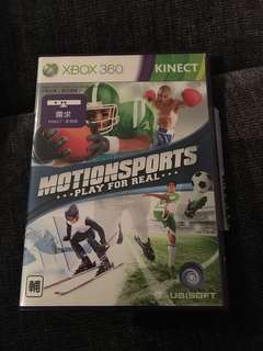 Xbox 360 MotionSports Play for Real