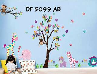 Wallsticker Uk. 2x60x90 Motif Our Forest