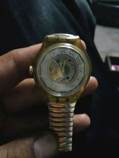 SWATCH AUTOMETIC GOLD ORIGINAL