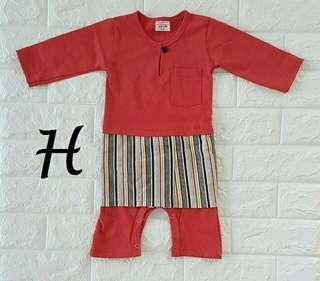 Baju Kurung Romper  Boy