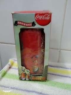 可口可樂收藏品:限量版揚聲器(未開封)。