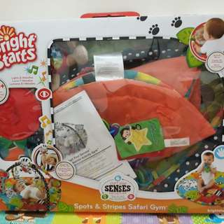 Baby Play Gym ( Spots & Strips Safari )