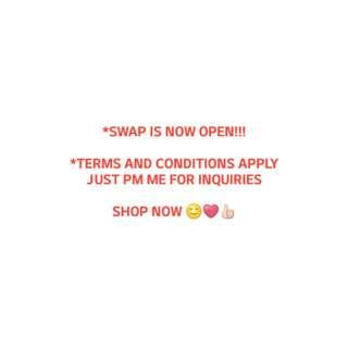 SWAP HERE! 😊❤👍