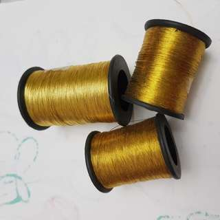 *Gold zari thread*