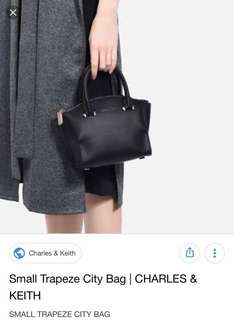 Charles & Keith Mini City Bag