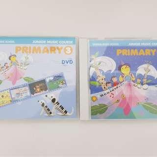 Yamaha Junior Course CD & DVD