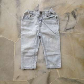 Baby Poney season look jeans (Boy)