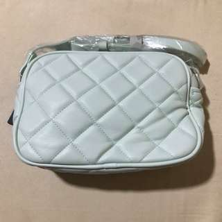 F21 Quilted Sling Bag