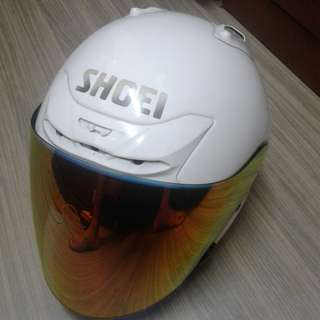 Shoei jforce 2 putih saiz m original japan