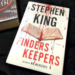 Finders Keepers by Stephen King Hardcover Imported Book Novel