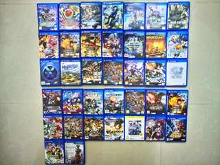 PSV 上3排中文版 下2排日文版 game