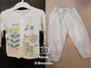 Baby blouse&pants