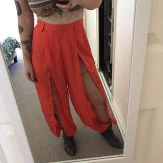 Cameo genie pants in orange