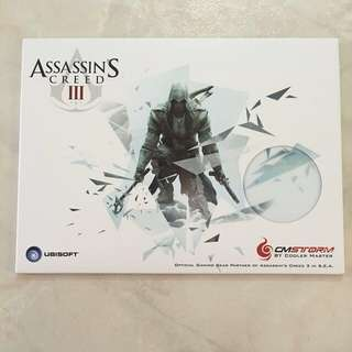 CM Storm Assassin's Creed III White Special Limited Edition Gaming Hardpad