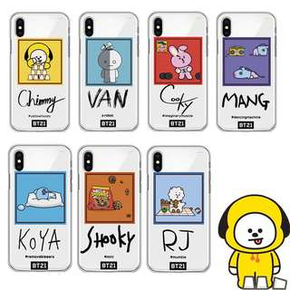 [Pre-Order] BT21 iPhone Cases