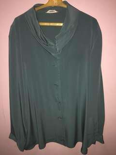FLASH SALE!!!! Green Women's Polo blouse