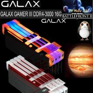 GALAX GAMER III DDR4-3000 16GB RGB..#
