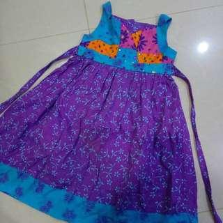 Girl Bali Dress 8-9y