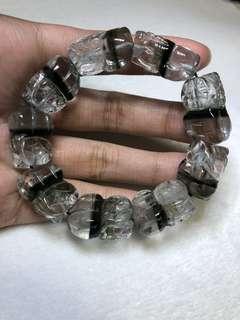Green phantom pixiu bracelet (rare)