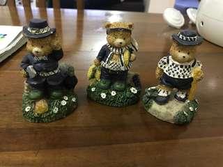 Vintage Clay Bears