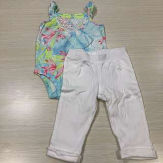 Carter's Onesie & Pants Set