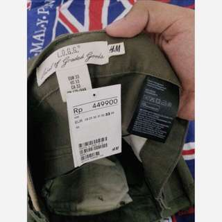 H&M Jeans Green Army