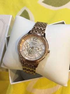 Sheen Women's Rose Gold Watch