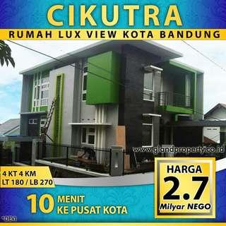 Rumah modern view kota bandung