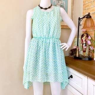 Long back summer dress
