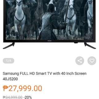 brand new samsung smart tv 40 inches