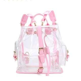 Trasparent cute bag