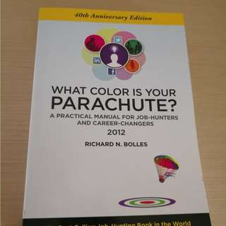 #Cheap Clearance# What Colour Is Your Parachute ? Good Guide for jobseekers