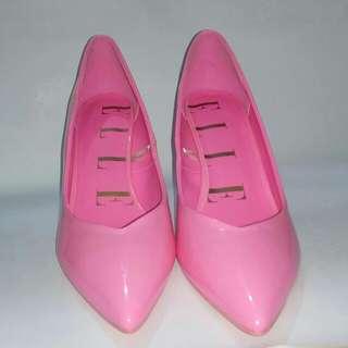 SALE!!! Elle Pointed Toe Heels (Pink)