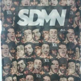 "*LOWERED PRICE* SIDEMEN 3 YEARS ""FACES"" SUBLIMATION T-SHIRT"
