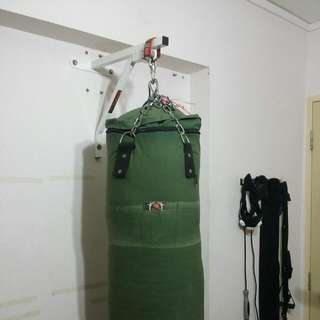 Punching Bag And Rdx Wall Mount