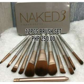 NAKED BRUSH 12PCS