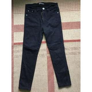 Black skinny highwaisted jeans