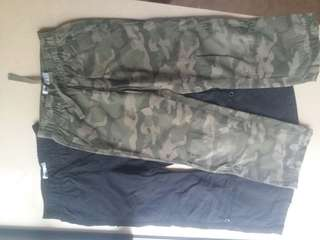Cargo Roll Up Pants