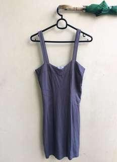 Party grey dress